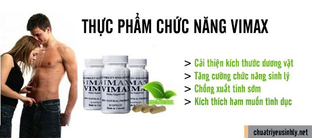 tác dụng của thuốc Vimax