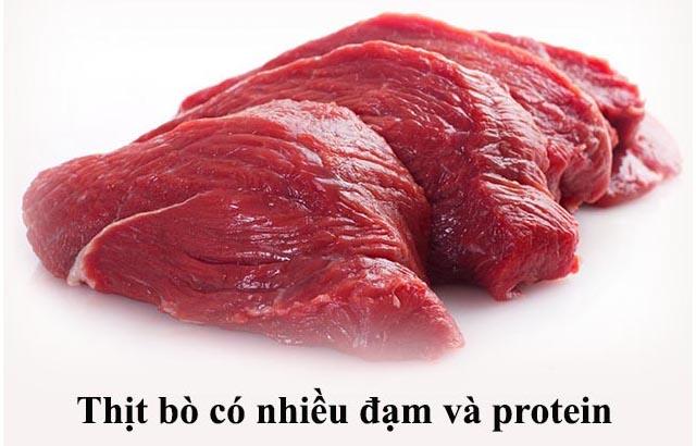 Bệnh xuất tinh sớm nên ăn thịt bò