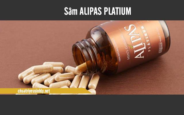 SâmAlipas Platium giúp tăng cường khả năng sinh lý cho phái mạnh.