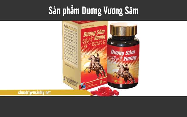Dương Vương Sâm giúp tăng cường nội tiết tố nam