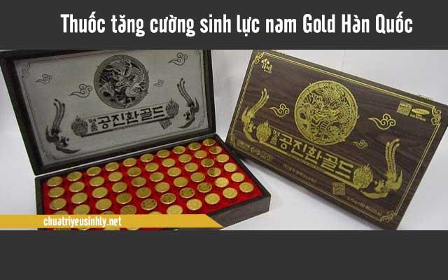 Gold Hàn Quốc là thuốc giúp tăng cường sinh lý của nam giới