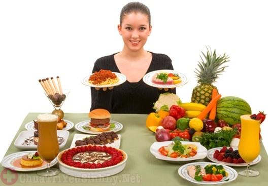 Chế độ ăn uống ảnh hưởng đến việc thụ thai