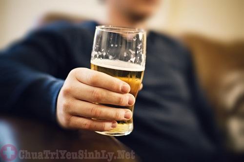 giảm ham muốn tình dục ở nam giới do rượu bia