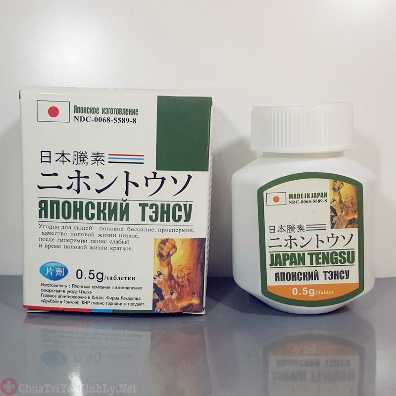 thuốc tăng cường sinh lý nam tốt nhất của Nhật
