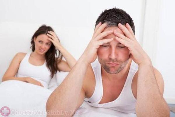 Rối loạn cương dương ảnh hưởng đến tâm lý nam giới