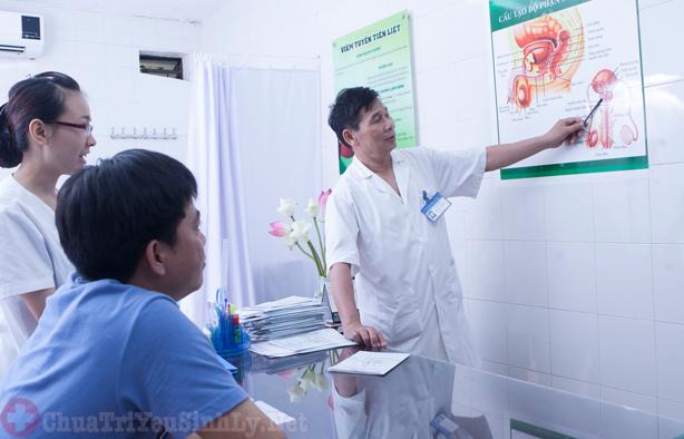 bác sĩ nam khoa Hoàng Văn Bá (Bệnh viện Bình Dân, TP.HCM)