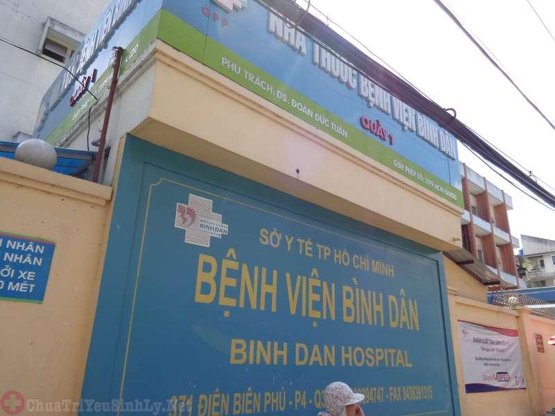 Kinh nghiệm khám bệnh ở khoa nam khoa bệnh viện Bình Dân