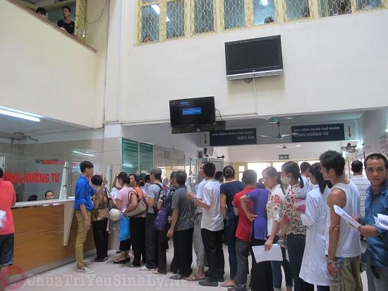 Quy trình đăng ký khám chữa bệnh nam khoa