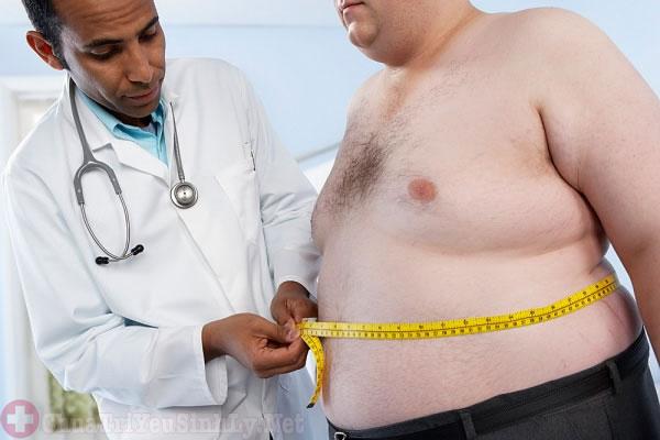 Yếu sinh lý gây ra hiện tượng béo phì ở nam giới