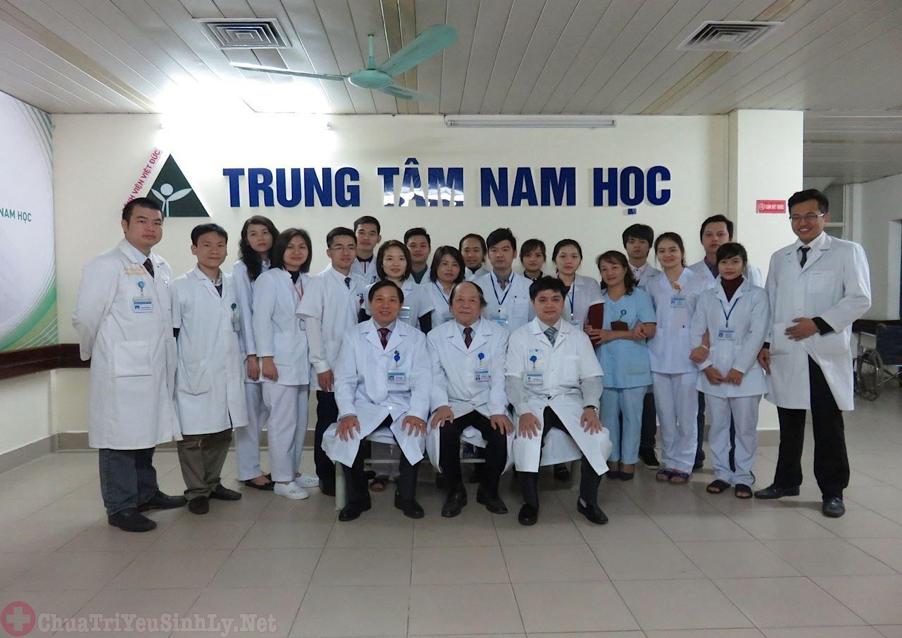 Địa chỉ Trung Tâm Nam Học bệnh viện Việt Đức