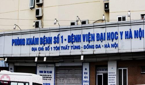 Thông tin về phòng khám nam khoa Đại học Y Hà Nội