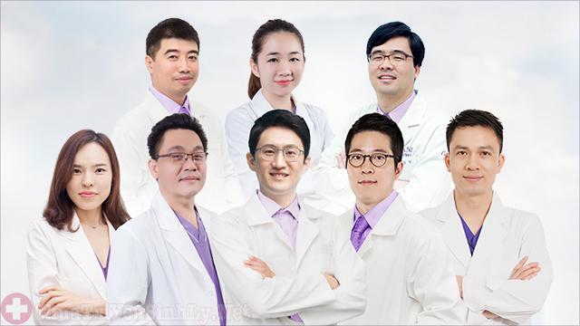 Phòng khám có đội ngũ y bác sĩ trình độ cao