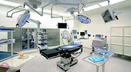 Trang thiết bị của phòng khám hiện đại