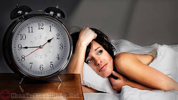 Thận yếu gây mất ngủ ở phụ nữ