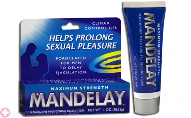 Mandelay - Thuốc chống xuất tinh sớm dạng gel