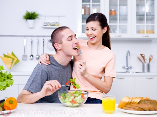 Xây dựng cho chồng một chế độ dinh dưỡng hợp lý nhất