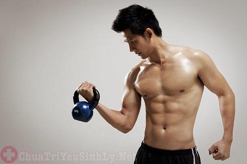 Luyện tập thể dục giúp tăng cường chất lượng tinh trùng