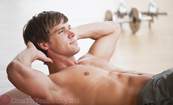 Luyện tập yoga điều trị xuất tinh sớm