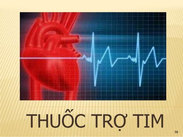 Thuốc trợ tim làm yếu sinh lý đàn ông