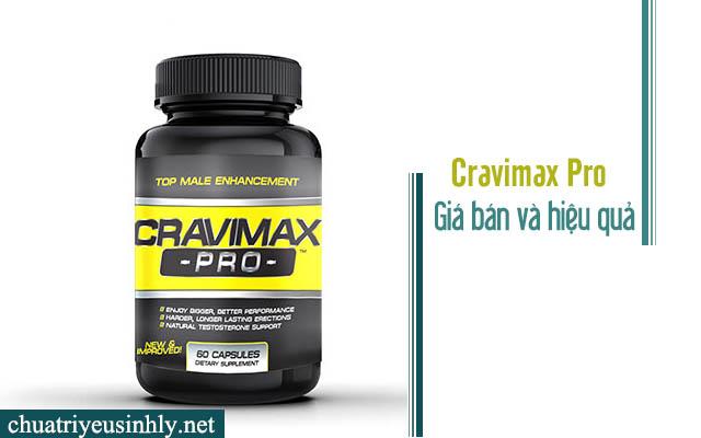 Thực phẩm chức năng cravimax pro