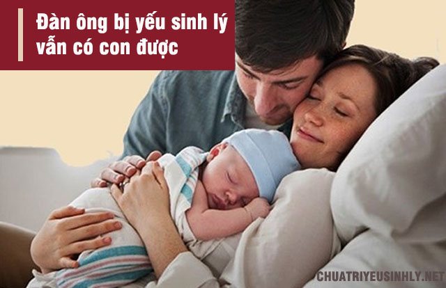 bệnh yếu sinh lý có thể có con không