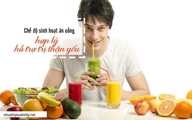 chế độ sinh hoạt ăn uống chữa thận yếu gây ngứa