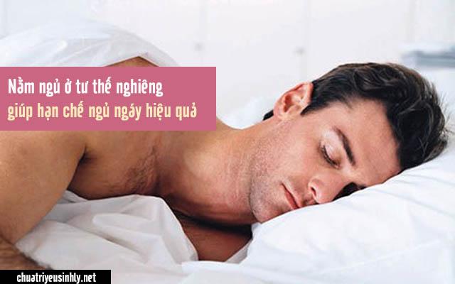 Những người hay ngủ ngáy nên nằm ở tư thế nghiêng