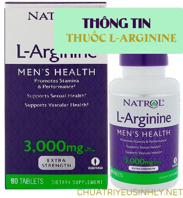 Thuốc L Arginine