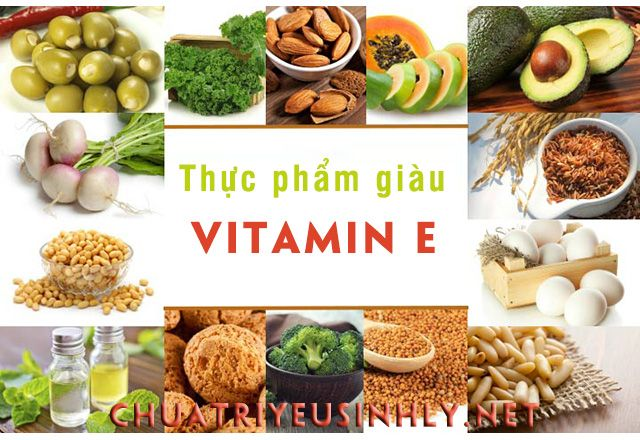 Thực phẩm chứa vitamin E rất tốt cho sức khỏe sinh sản của nam giới