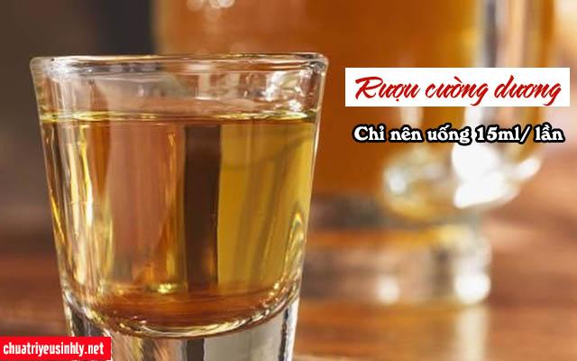 cách sử dụng rượu thuốc cường dương bổ thận
