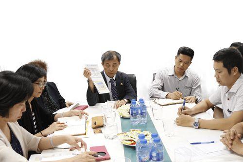 Buổi gặp gỡ của Công ty CP TDT và Trung tâm Phát triển Công nghệ công nghiệp Dược phẩm Đài Loan