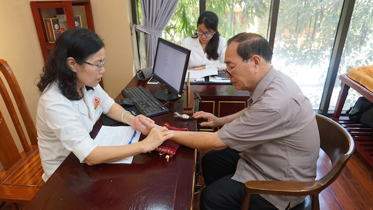 bác sĩ Nguyễn Thị Vân Anh chữa xuất tinh sớm