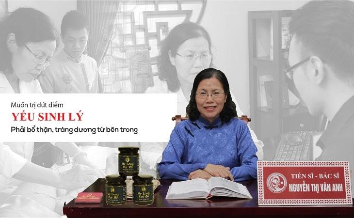 Bác sĩ Nguyễn Thị Vân Anh đưa ra lời khuyên cho người bệnh yếu sinh lý