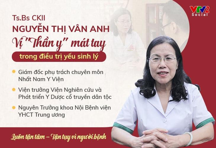 Bác sĩ Vân Anh được VTV2 Chất lượng cuộc sống đánh giá cao về chuyên môn và kinh nghiệm