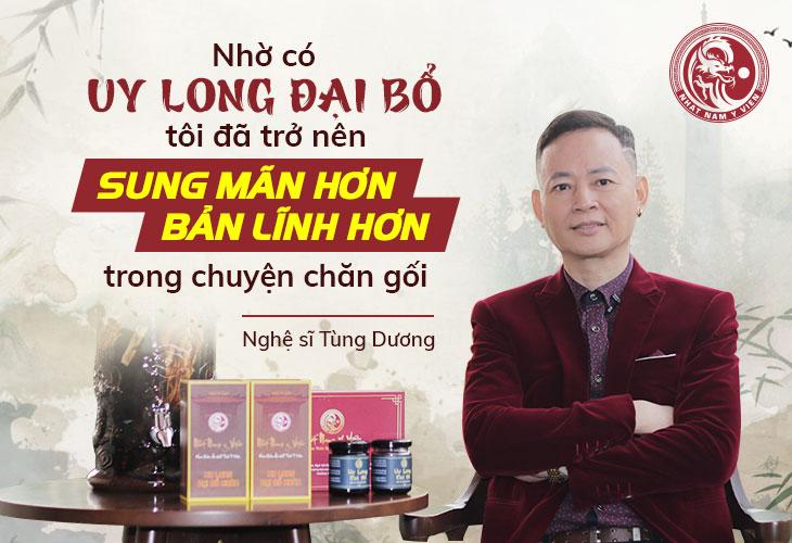 Nghệ sĩ Tùng Dương vô cùng bất ngờ với kết quả đạt được sau khi dùng bài thuốc quý tại Nhất Nam Y Viện