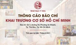 Ra mắt thương hiệu Nhất Nam Y Viện Hồ Chí Minh