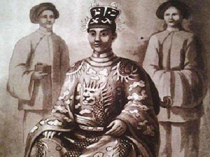 Hình ảnh vua Minh Mạng