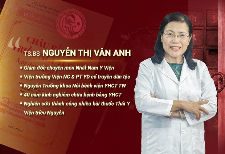 TS.BS Nguyễn Thị Vân Anh đánh giá về hiệu quả bài rượu thuốc